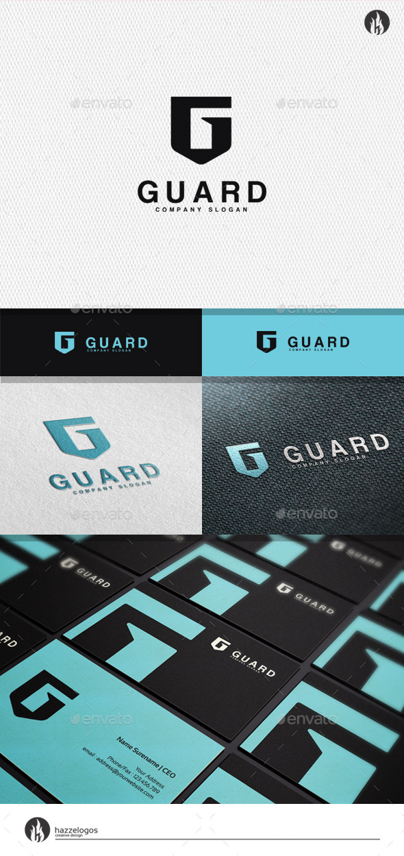 GraphicRiver Guard Logo 11778908