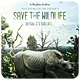 Save The Wildlife - Flyer - GraphicRiver Item for Sale