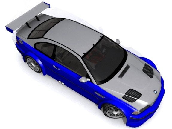 3DOcean BMW M3 GT-R E46 1183173
