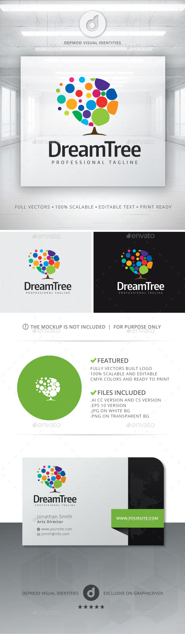 GraphicRiver Dream Tree Logo 11779145