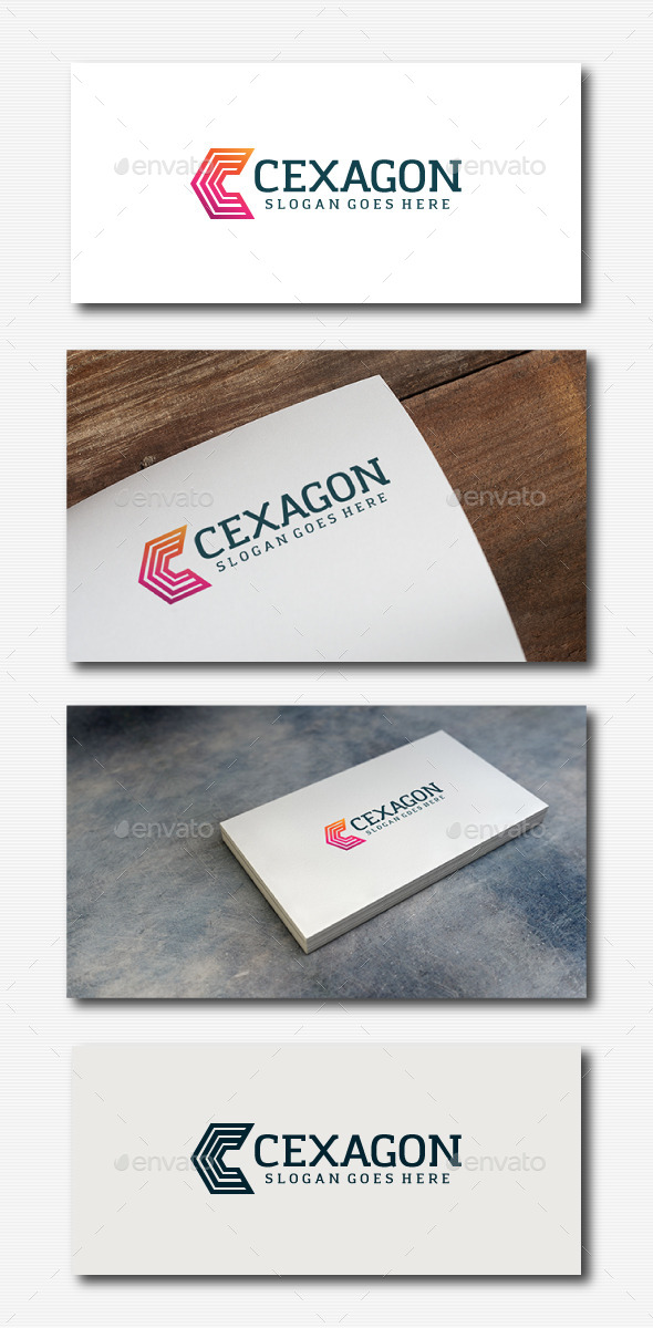 GraphicRiver Cexagon Logo Letter C 11779570