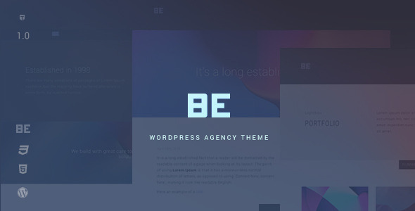 ThemeForest Be Responsive Agency WordPress Theme 11714196
