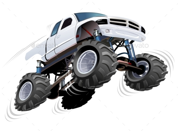 GraphicRiver Monster Truck 11779834