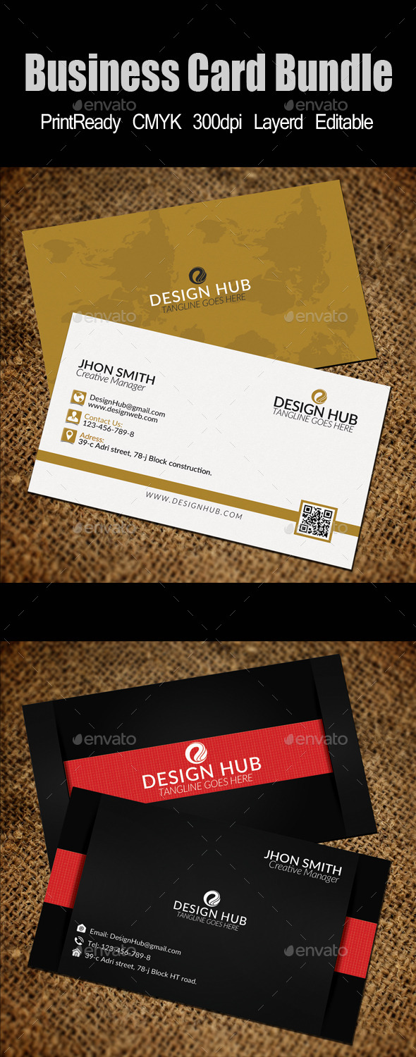 GraphicRiver Business Card Template Bundle 11779986