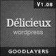 Delicieux - Restaurant Wordpress Theme - ThemeForest Item for Sale