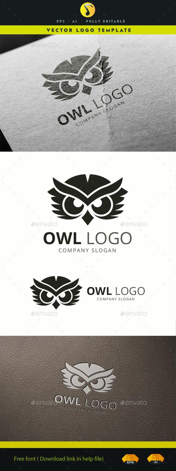 GraphicRiver Owl Logo 11780253