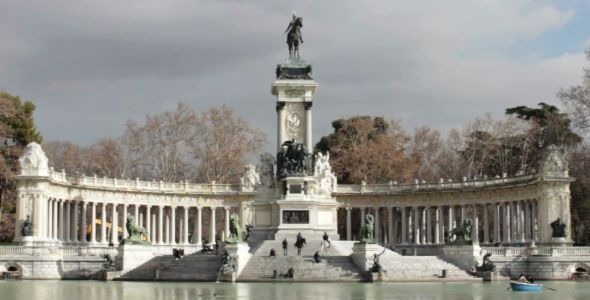 Monumento Alfonso XII in Madrid
