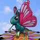 Cartoon Butterfly RIGGED