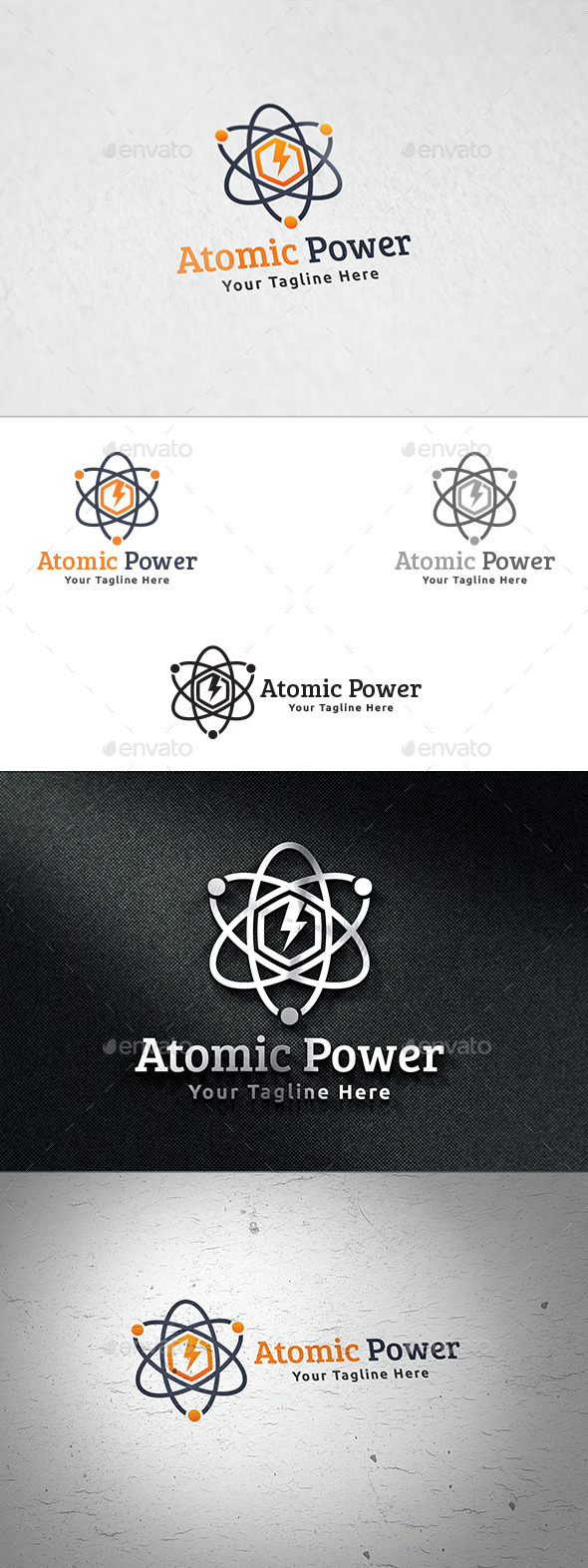 GraphicRiver Atomic Power Logo Template 11780953