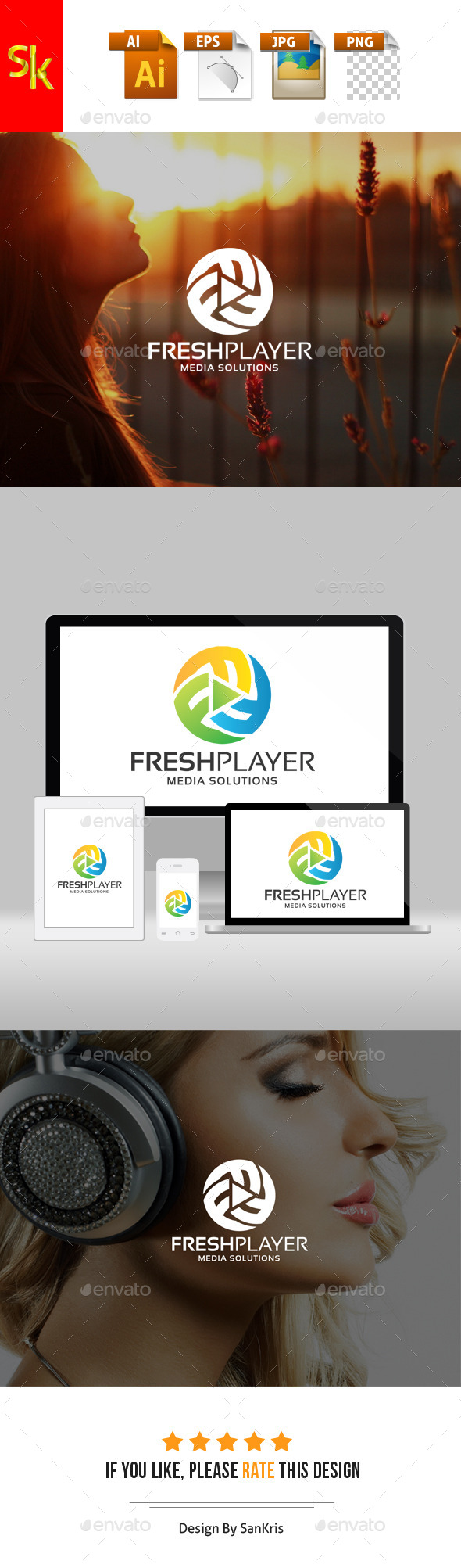 GraphicRiver Fresh Media Player 11780961
