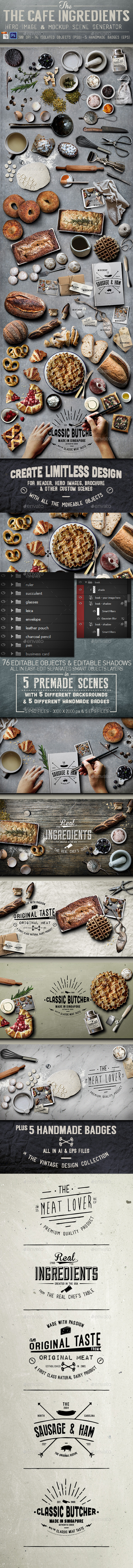 GraphicRiver Cafe Ingredients Hero Image 11781215
