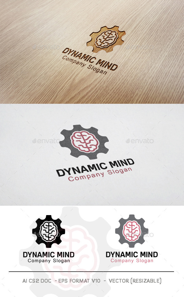 GraphicRiver Dynamic Mind Logo 11781363
