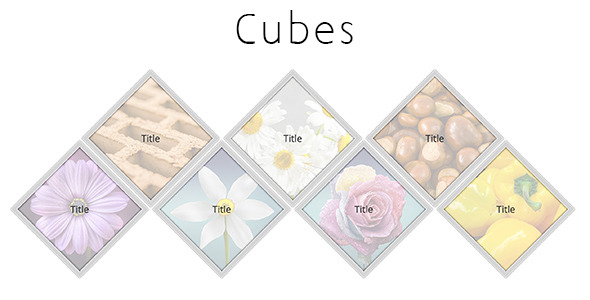 CodeCanyon DCubes Responsive Homepage Cubes Grid 11648621