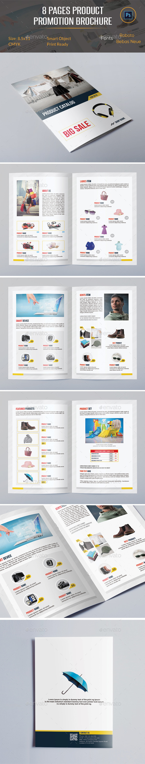 GraphicRiver Product Promotion Catalog 11781622