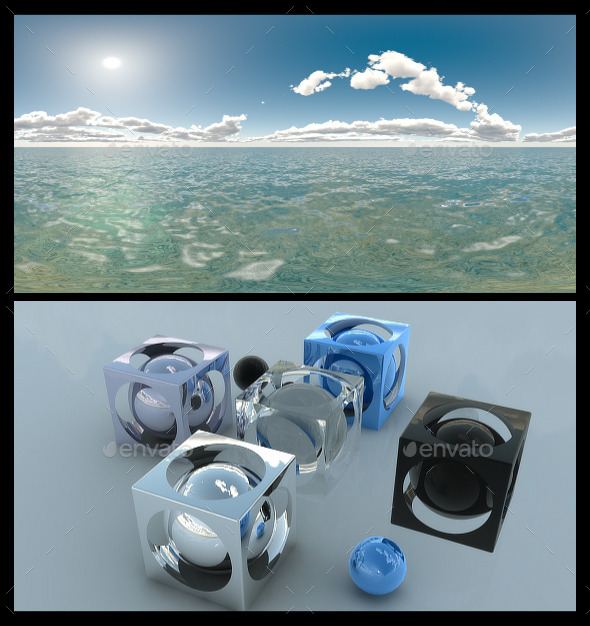 Ocean Bright Day 2 - HDRI - 3DOcean Item for Sale
