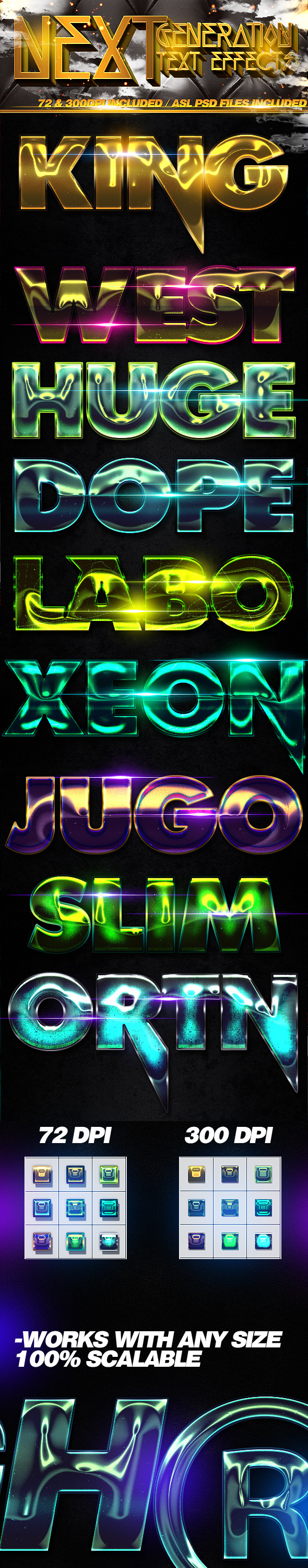 GraphicRiver Next Generation Text Effects 11782628