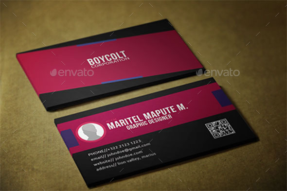 GraphicRiver Corporate Business Card 11782980