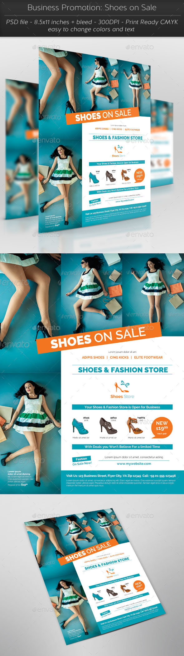 GraphicRiver Business Promotion Shoes on Sale 11783263