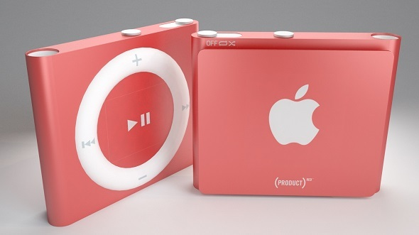 3DOcean Apple iPod Shuffle 4th Vray & Corona Ready 11783281