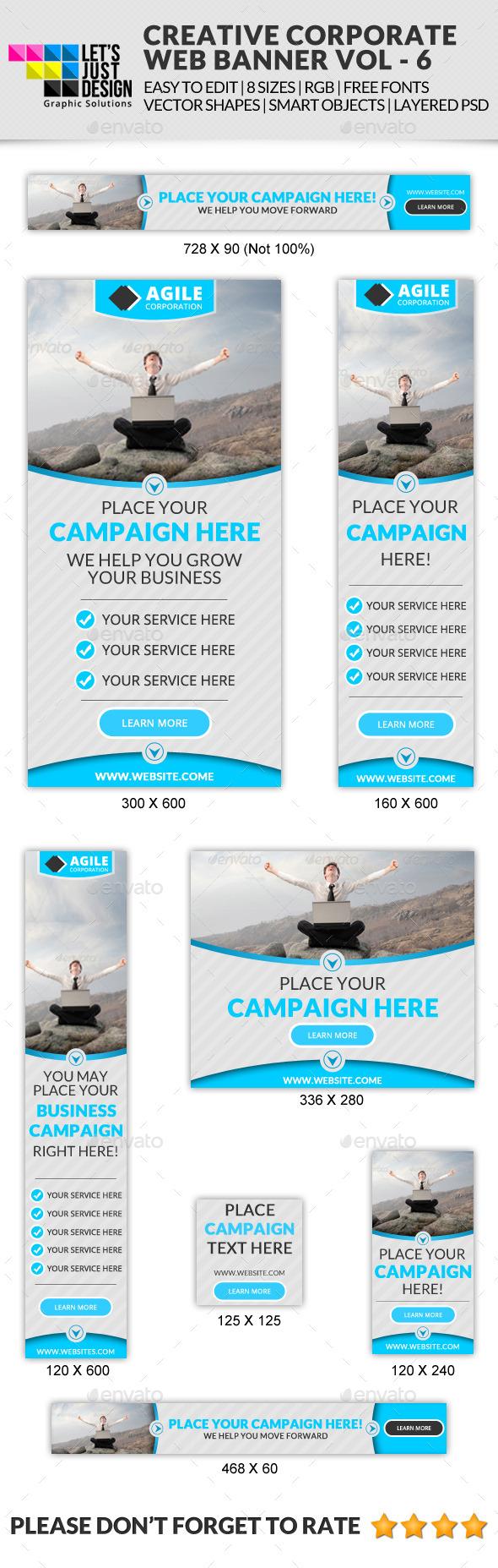 GraphicRiver Corporate Web Banner Vol 6 11783297