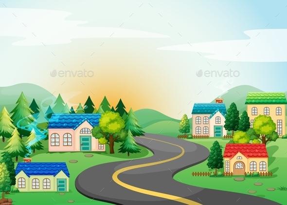 GraphicRiver Village 11783342