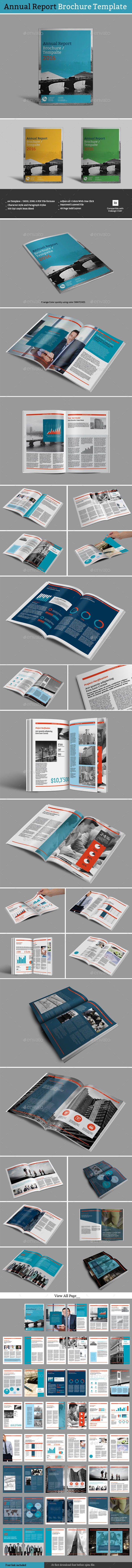 GraphicRiver Annual Report Brochure Template 11783667