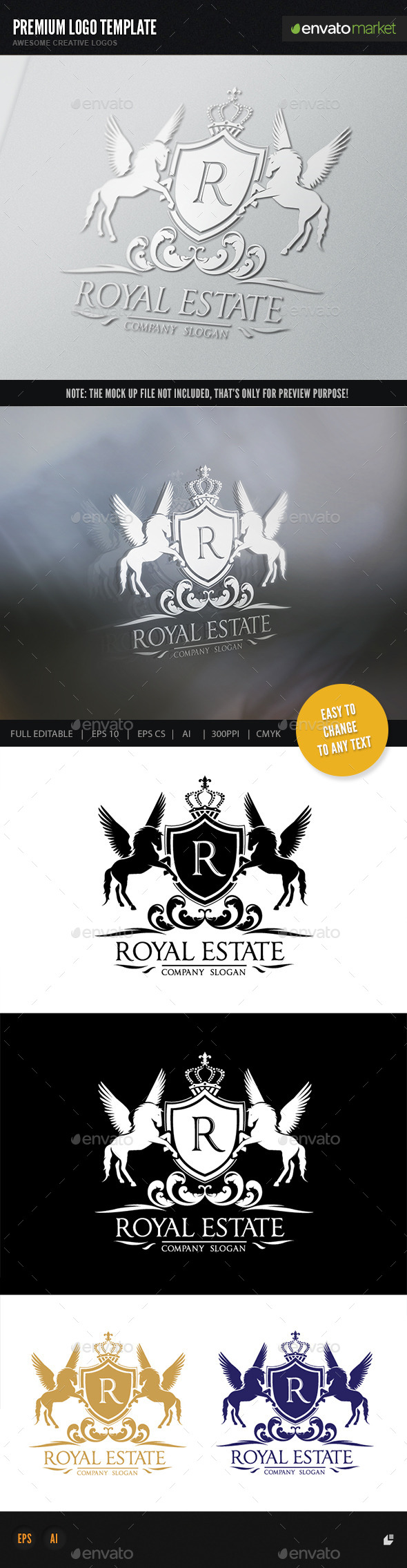 GraphicRiver Royal Real Estate 11783907