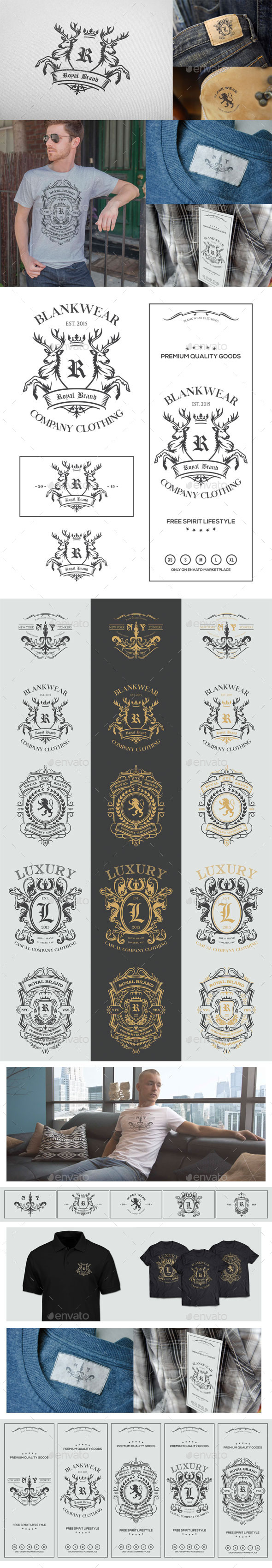 GraphicRiver T-Shirt Template Brand Identity 11783991