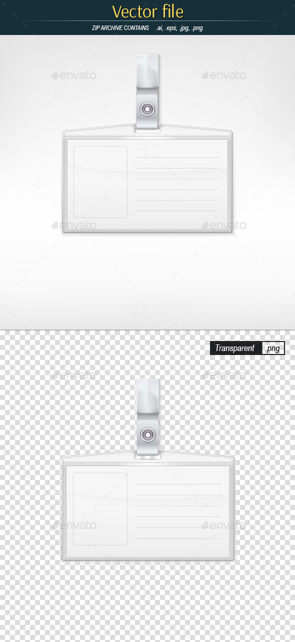 GraphicRiver Badge Holder 11784065