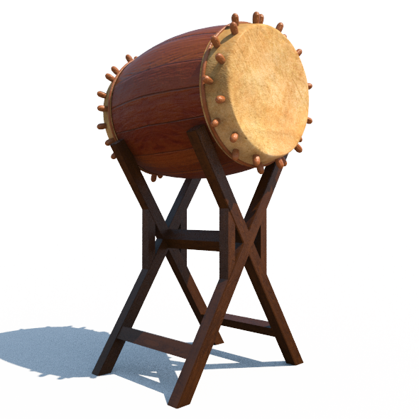 Bedug Traditional Drum Percussion - 3DOcean Item for Sale