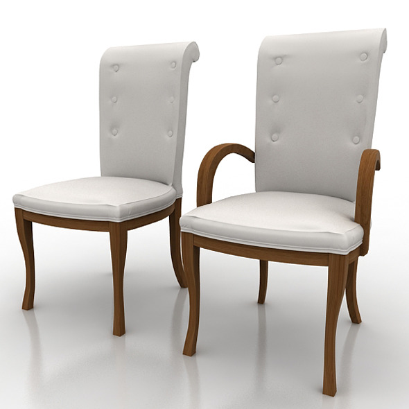 3DOcean Armchair And Chair 471205