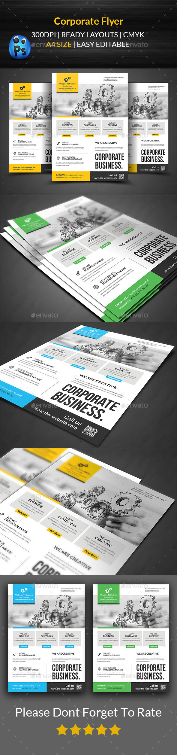 GraphicRiver Corporate Flyer Template 11785097