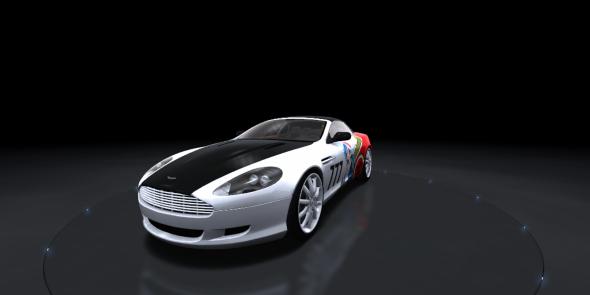 3DOcean Aston Martin GT3 11785134