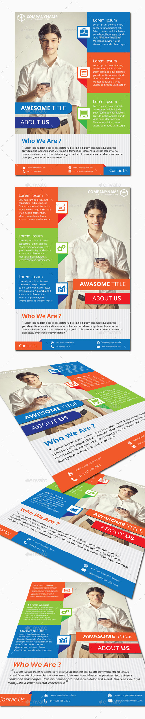 GraphicRiver Modern Corporate Business Flyer Vol 3 11717940