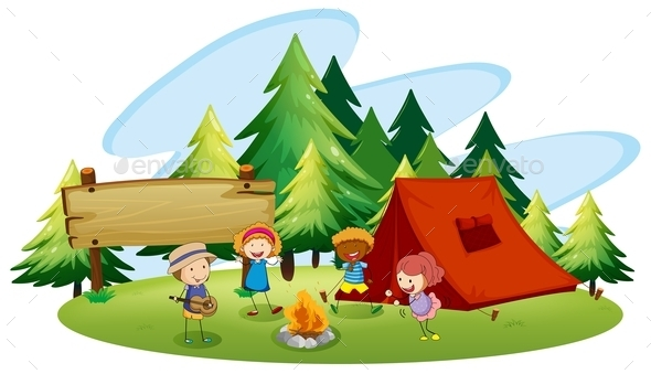 GraphicRiver Camping 11785979