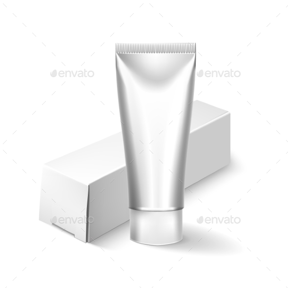 GraphicRiver Blank Cosmetics Packages Tube Template 11786085