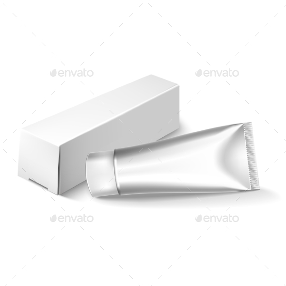 GraphicRiver Blank Cosmetics Packages Tube Template 11786087