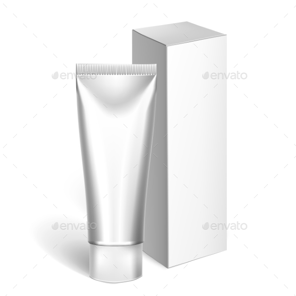 GraphicRiver Blank Cosmetics Packages Tube Template 11786102