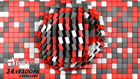 Beat Cubes VJ Loops 24-Pack