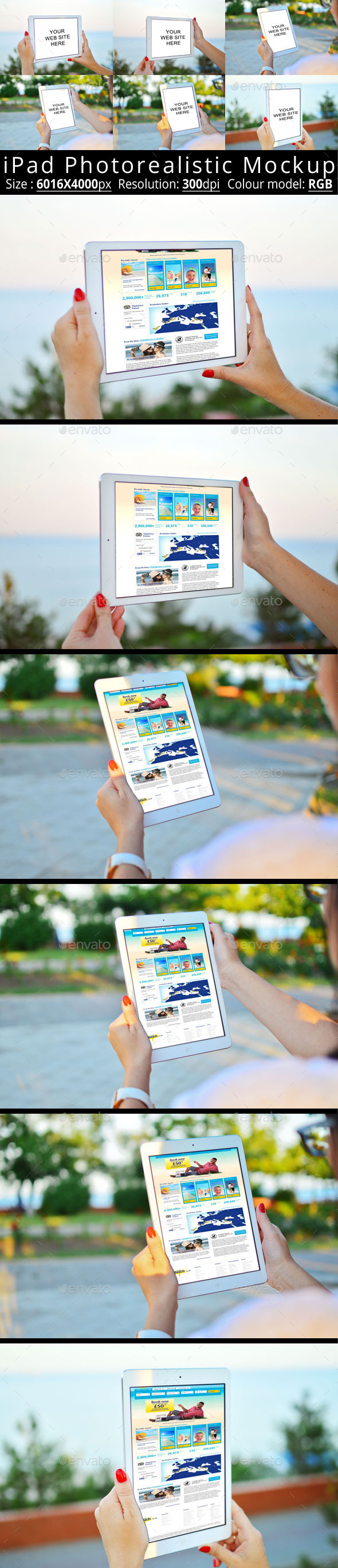 GraphicRiver iPad Photorealistic Mock-Up 11786533
