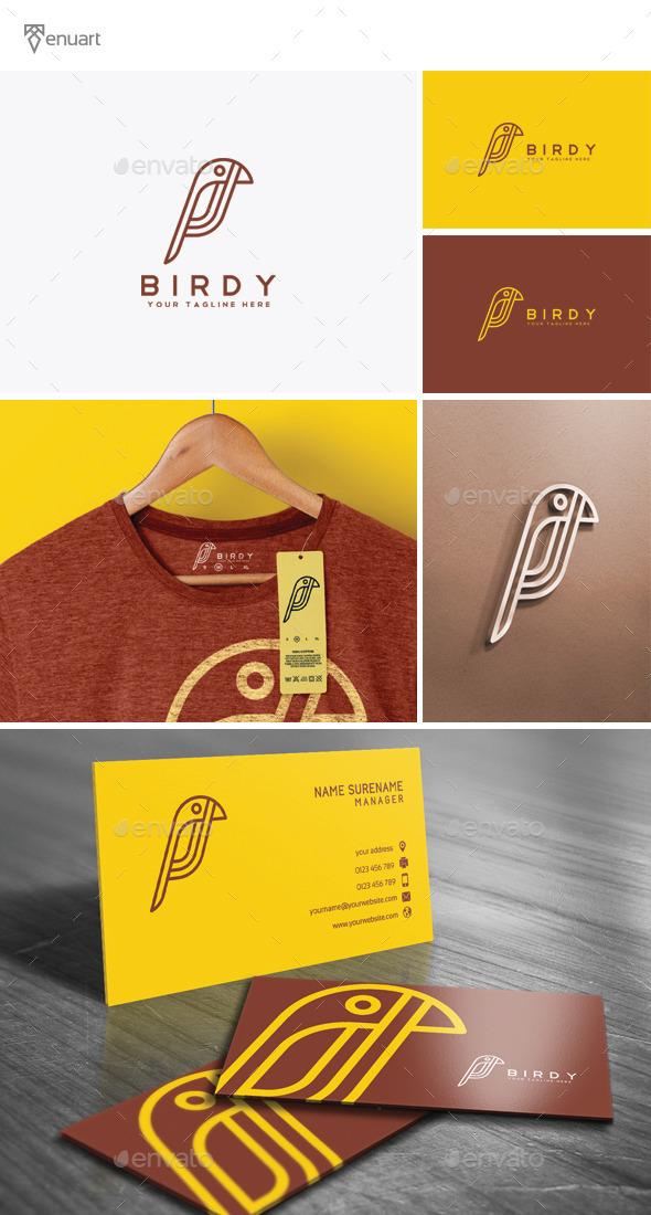 GraphicRiver Birdy Logo 11786758