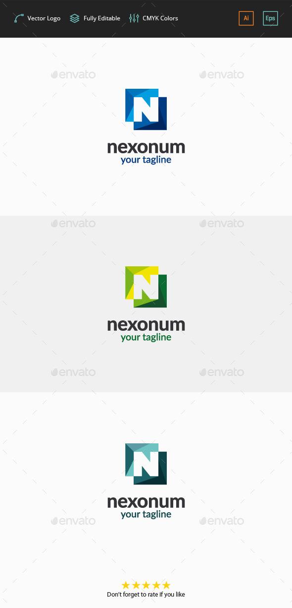 GraphicRiver Nexonum Logo Letter N 11787449