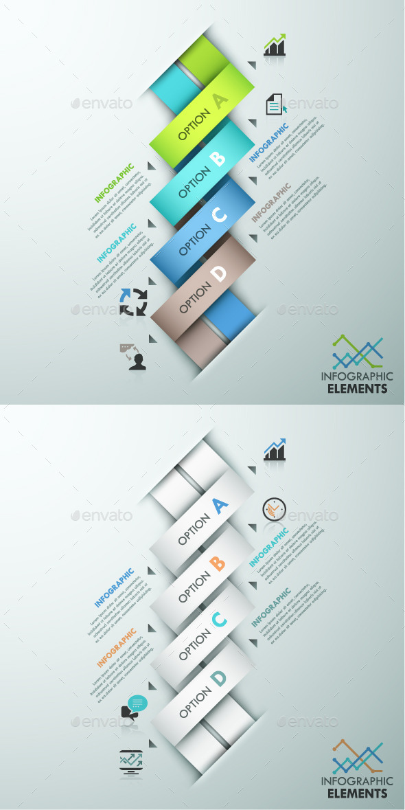 GraphicRiver Modern Infographics Paper Template 2 Items 11787852