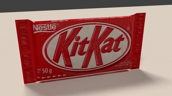 3DOcean Kitkat chocolate bar 11788004