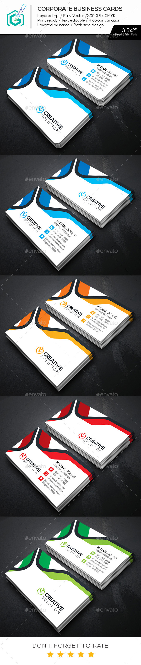 GraphicRiver Creative Business Cards 11788014