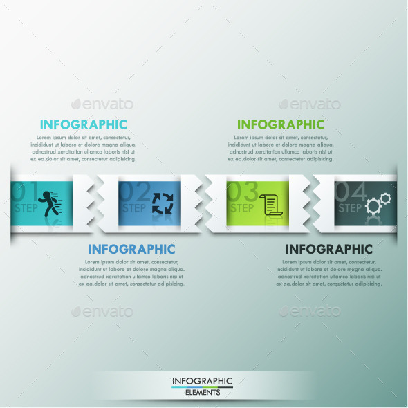 GraphicRiver Modern Infographics Paper Template 11788081