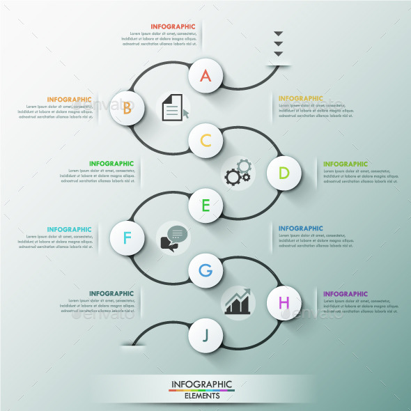 GraphicRiver Modern Infographic Process Template 11788091