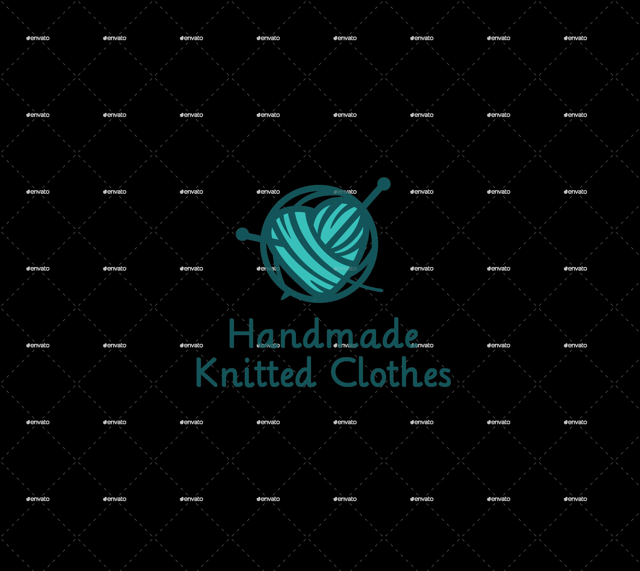 Handmade Knitted Logo By Nattanka Graphicriver