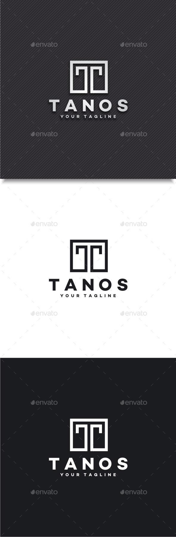 GraphicRiver Tanos Letter T Logo 11788894
