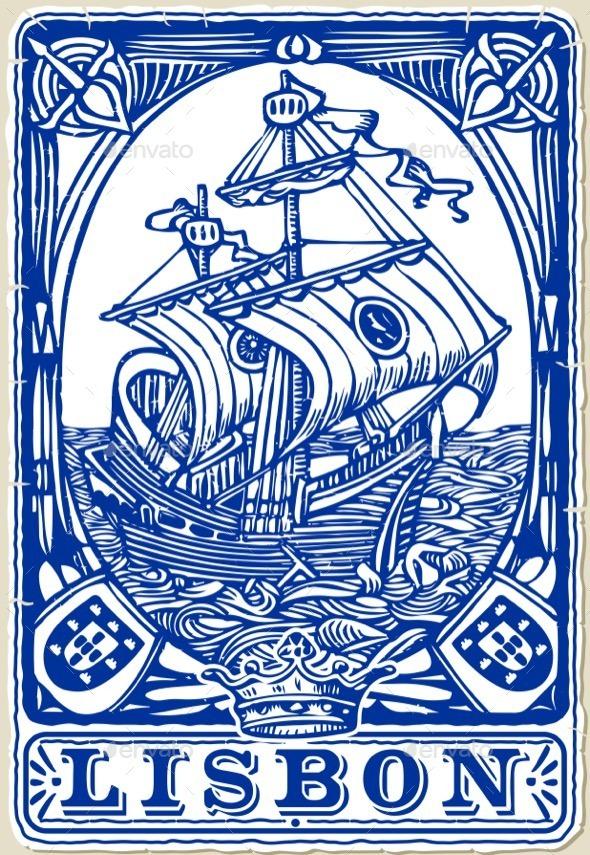 GraphicRiver Traditional Tiles Azulejos Lisbon Portugal 11788896